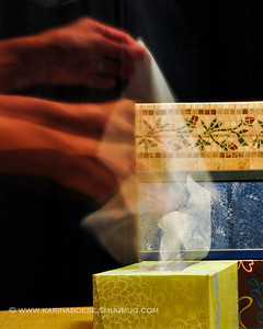 """The Kleenex® Challenge...10/27/08  The Challenge: Create a piece using Kleenex® tissues.The Participants: John (300m), Bill Pador, kre8ive, jawsnap, and myself.The Result: """"Can't Get Enough""""  I guess I didn't really create a piece using Kleenex... but, I created a piece of photo using Kleenex.  It was COLD in Washington DC this morning My nose was running nonstop Lucky that my hubby loves to have  a lot of 'stock' of almost everything ... including Kleenex!!!  I'm back in Houston again tonight It feels good to be home."""